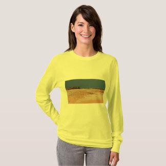 T-shirt À l'intérieur scène australienne de plage