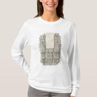 T-shirt À l'ouest avant de cathédrale de Strasbourg