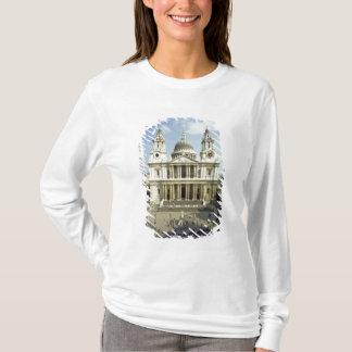 T-shirt À l'ouest avant de la cathédrale de St Paul, conçu