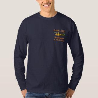 T-shirt À Manches Lomgues Brodée 240th Chemise brodée par UH1 d'AHC Vietnam