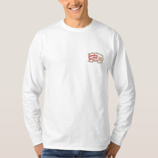 T-shirt À Manches Lomgues Brodée Chemise de douille de loLong brodée par coutume de
