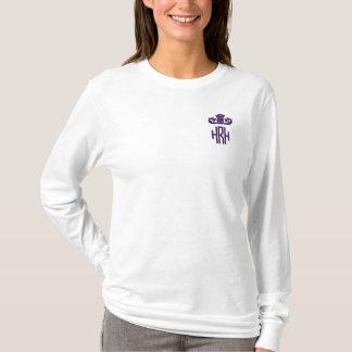 T-shirt À Manches Lomgues Brodée Princesse Monogram Shirt
