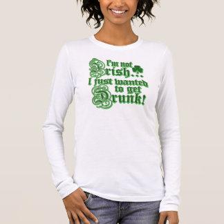 T-shirt À Manches Longues A juste voulu obtenir BU