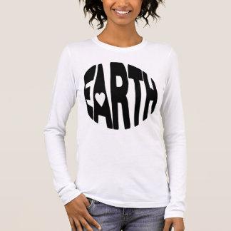 T-shirt À Manches Longues Aimez la terre