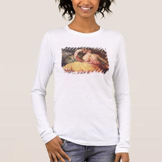 T-shirt À Manches Longues Allégorie de géographie