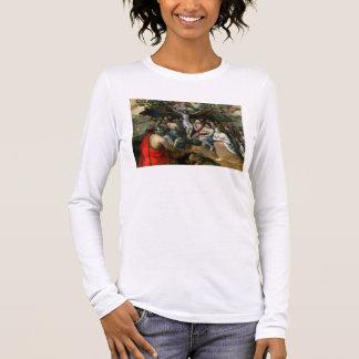 T-shirt À Manches Longues Allégorie de la trinité (huile sur le panneau)