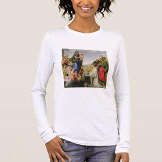 T-shirt À Manches Longues Apparition de la Vierge à St Bernard, 1504-07 (