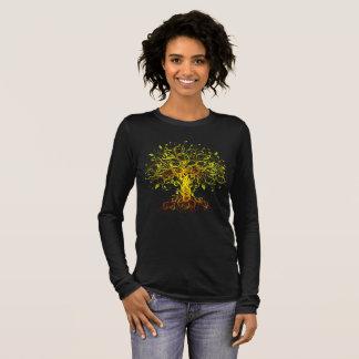 T-shirt À Manches Longues Arbre de la vie coloré