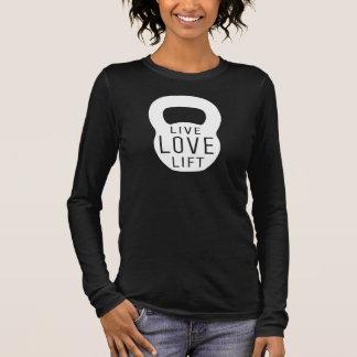 T-shirt À Manches Longues Ascenseur vivant d'amour