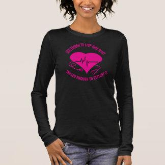 T-shirt À Manches Longues Assez mignon tee - shirt pour des infirmières