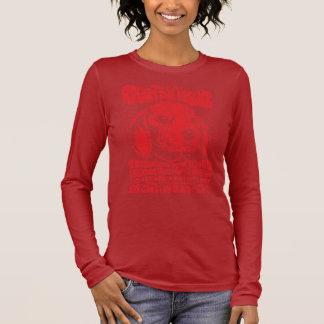 T-shirt À Manches Longues Avantage de RDR (rouge vintage)