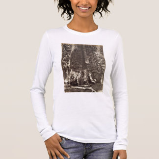 T-shirt À Manches Longues Base du géant grisâtre, 'du livre de Yosemite