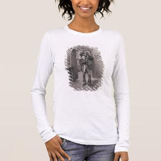T-shirt À Manches Longues Bob Cratchit et Tim minuscule, de 'Charles Dickens