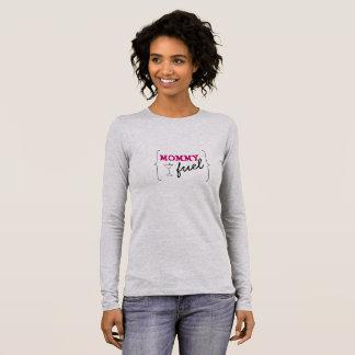 T-shirt À Manches Longues Carburant de maman