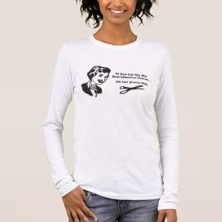 T-shirt À Manches Longues castration !