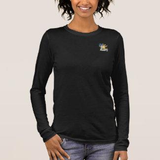 T-shirt À Manches Longues Cercles d'alphabet : Longue pièce en t de douille