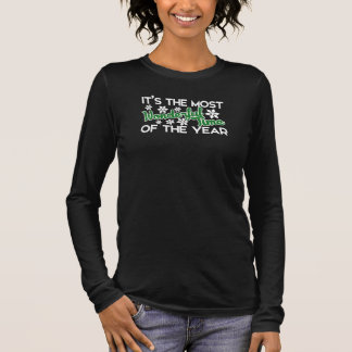 T-shirt À Manches Longues C'est la période la plus merveilleuse de l'année