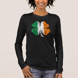 """T-shirt À Manches Longues """"Chance affligée"""" de la chemise irlandaise de"""