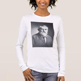 T-shirt À Manches Longues Charles bonne nuit (photo de b/w)