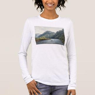 T-shirt À Manches Longues Château de Goodrich sur le montage en étoile (la