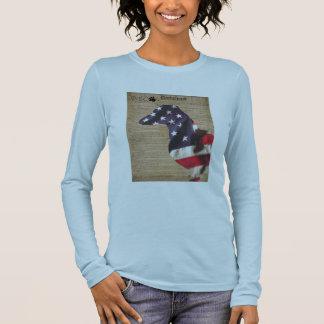 T-shirt À Manches Longues Chemise constitutionnelle de teckel