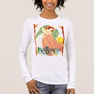 T-shirt À Manches Longues Chemise d'ange