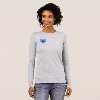 T-shirt À Manches Longues Chemise de douille de retour de PAO longue