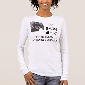 T-shirt À Manches Longues Chemise de grange