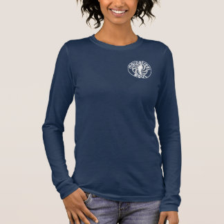 T-shirt À Manches Longues Chemise de la douille des femmes d'âme de
