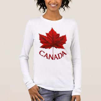 T-shirt À Manches Longues Chemise de souvenir de Canada de chemise du Canada