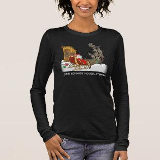 T-shirt À Manches Longues Chemise drôle de Chambre de Schmidt de bande