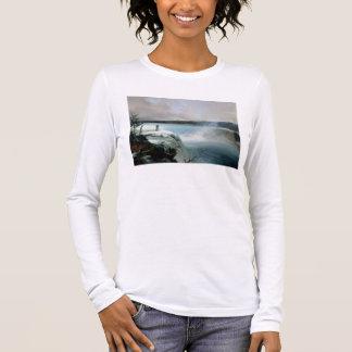 T-shirt À Manches Longues Chutes du Niagara, c.1837-40 (huile sur la toile)