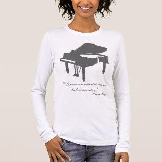 T-shirt À Manches Longues Citation de Franz Liszt