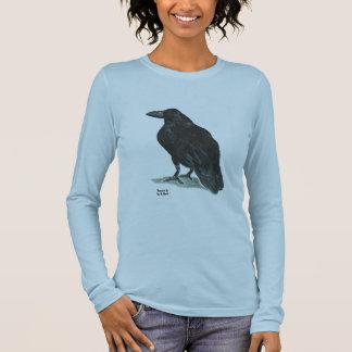 T-shirt À Manches Longues Citation de Raven II w/Poe
