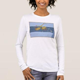 """T-shirt À Manches Longues Constellation de Balance, de """"Uranometria"""" par"""