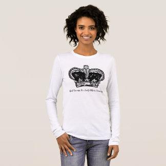 T-shirt À Manches Longues Couronne