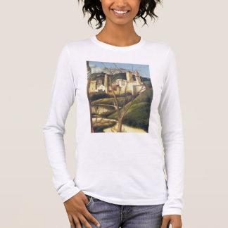 T-shirt À Manches Longues Crucifixion (détail du paysage d'arrière - plan SH