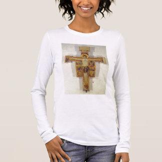 T-shirt À Manches Longues Crucifixion, école toscane, deuxième moitié de