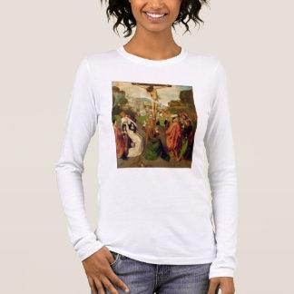 T-shirt À Manches Longues Crucifixion (huile sur le panneau)