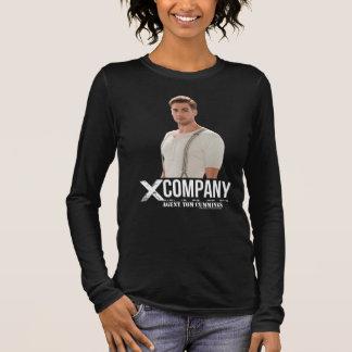 T-shirt À Manches Longues Cummings de Tom d'agent