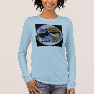 T-shirt À Manches Longues Dames d'orque de planète