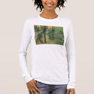 T-shirt À Manches Longues Danseurs d'Edgar Degas | préparant