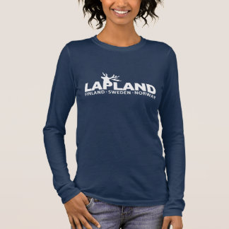 T-shirt À Manches Longues Des chemises de la LAPONIE - choisissez le style