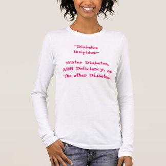 T-shirt À Manches Longues diabète des ~Diabetes Insipidus.~Water, CAD