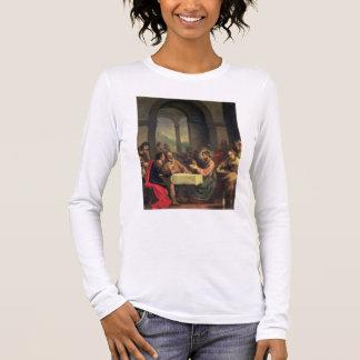 T-shirt À Manches Longues Dîner chez Emmaus, c.1600-05 (huile sur le