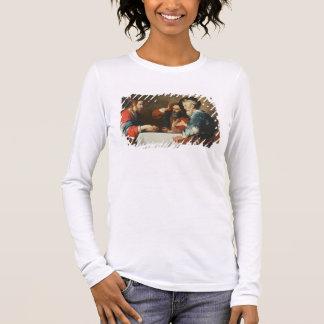 T-shirt À Manches Longues Dîner chez Emmaus (huile sur la toile) 2