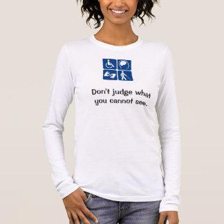 T-shirt À Manches Longues Disability_symbols_16