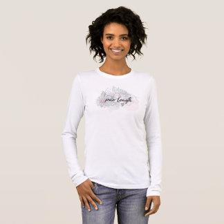 T-shirt À Manches Longues Douille de récupération de PAO longue