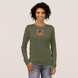 T-shirt À Manches Longues Douille T de dames de Sasquatch Outfitter Company