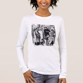 T-shirt À Manches Longues Droits sur des vins, accordés au chapitre de